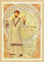 alphonse nouveau mucha by iniuchit