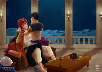 At your service - RinHaru by Alison-lynn