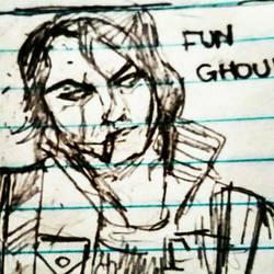 Fun Ghoul  by MyChemWolf96