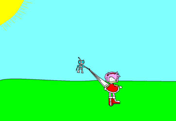 gir's wedgie attack by chrisrox110