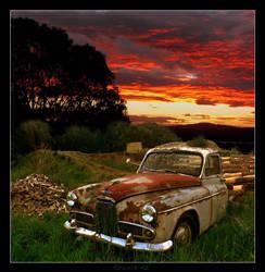 wood truck by grunta-nz