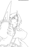 Edward Elric by Adriano-Arts