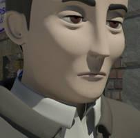 Main character - CloseUP by albertRoberto