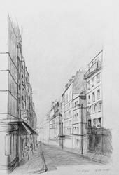 Rue Lepic by KarolineJuzanx