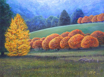 March of the Oak Trees. by leelastarsky