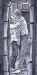 Bunkroom Kiss by leelastarsky
