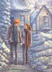 Snowy Village by leelastarsky