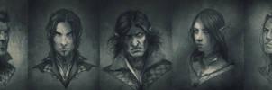 Portrait sketches by Matija5850