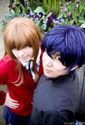 Toradora: Tiger and Dragon by Ai-rika