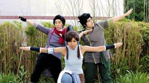 The Legend of Korra: Team Avatar by Ai-rika