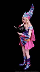 Dark Magician Girl - Duel Time by PamEvangeline