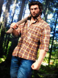 Lumberjack Logan by ArRoW-4-U
