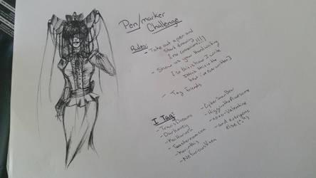 pen/marker challenge by NinjaSoulreaper27