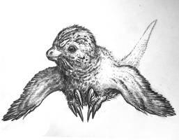 Baby Raptor by Lythroversor