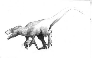 Torvosaurus by Lythroversor