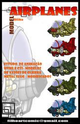 Airplanes by FilhoArtecomic