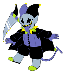 HA HA. LETS MAKE THE DEVILSKNIFE. by SonicMila