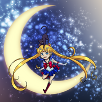 Sailor Moon for Rachel by SuzakuTrip
