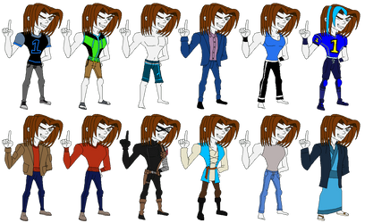 Human Thomas Fashion: Thomas by SUP-FAN