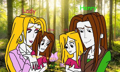 The Kipper family by SUP-FAN