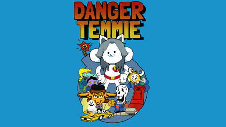 Danger Temmie Wallpaper by mrnutt