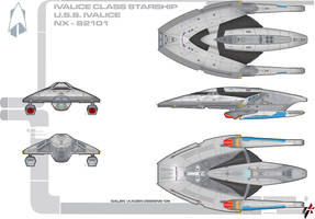 Ivalice Class Destroyer by Galen82