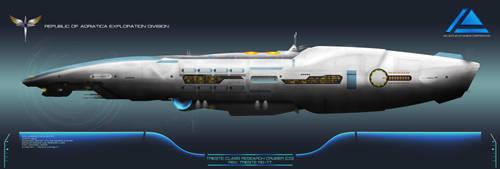 Republic Trieste Class Research Cruiser by Galen82