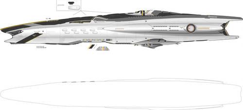 Evangelos Command Battlecruiser WIP by Galen82