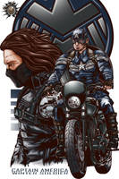 Captain America Winter Soldier by fullmetalshitty