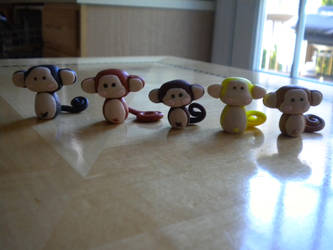 Clay Monkeys by exeriox