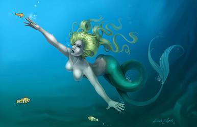 Mermaid by arm01