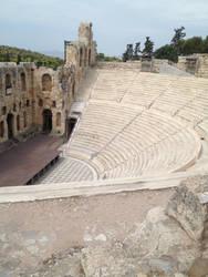 2nd theatre de l'Acropole by LinkyBrutus