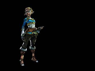 Zelda - Fond Noir by LinkyBrutus