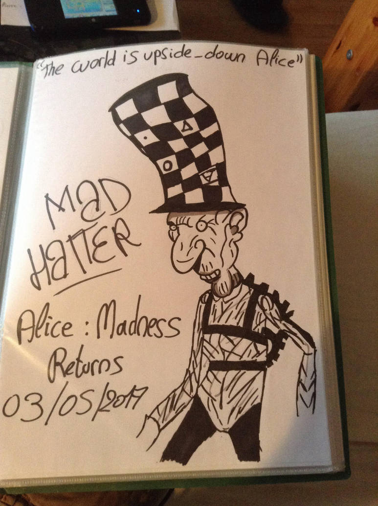 The Mad Hatter by LinkyBrutus