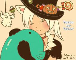 Happy Halloween by WandaRocket