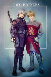 Two Princes by WandaRocket