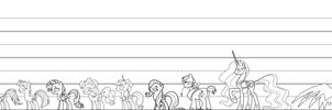 Detailed Reference Lines by Amana07