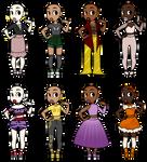 Fashion Adoptables [2] OPEN by EliteRosie