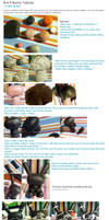 Polymer clay : B.A.P Bunny tutorial by CraftCandies