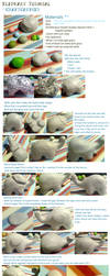 Polymer Clay : Elephant tutorial by CraftCandies