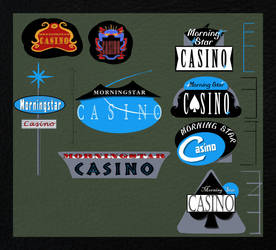 Casino Sign Concepts by Cearius