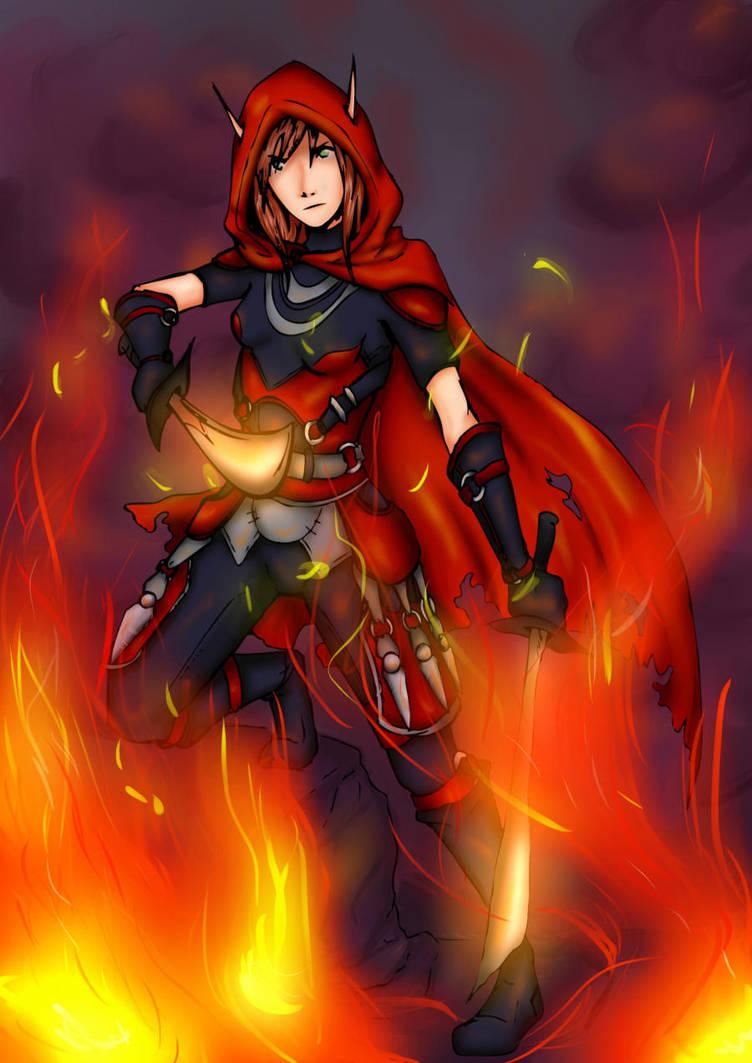 Wow:Blood Elf Rogue Kelthariel by karuchan87