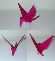 Origami Ramphorynchus by Acsumama