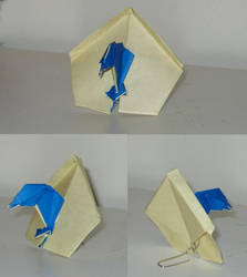 Origami Birdhouse In Your Soul by Acsumama