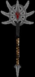 warstaff axe thing. by lordkalem