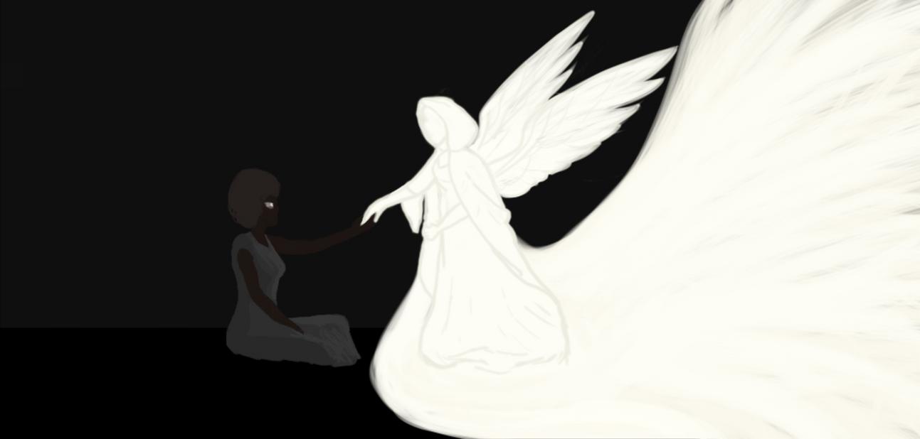 Tonya and the Light by lordkalem