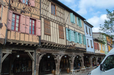 French Medieval Village-9 by RowyeStock