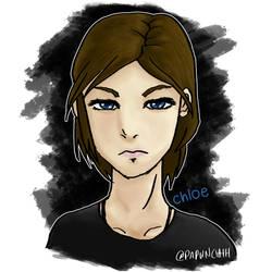 Chloe Price Portrait by fargokraft