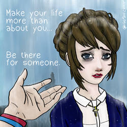 Make life more than about you. Kate March FanArt by fargokraft