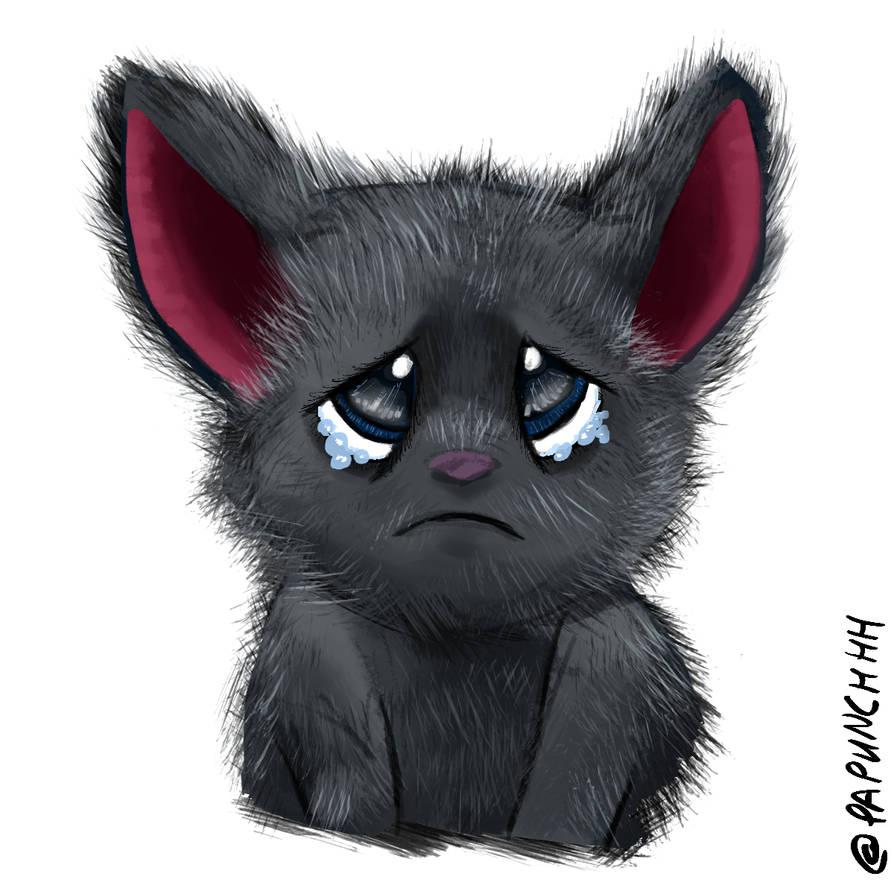 Mavis Sad Bat Eyes by fargokraft